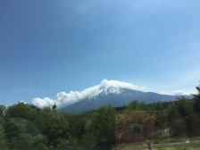 Another view of Fuji
