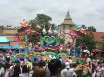 An Easter themed parade