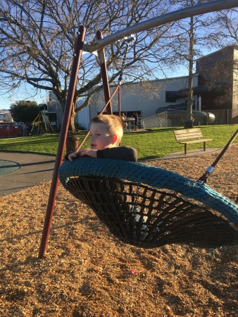 C is still a fan of the swing