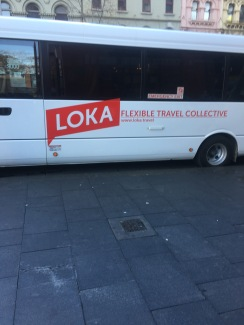 Our trusty Loka bus!